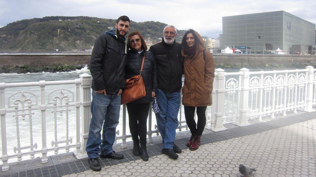 Familia española en Belén 1