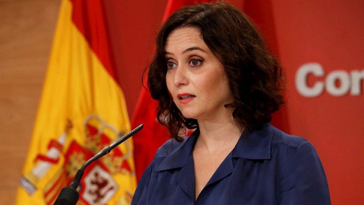 Ayuso asegura que Madrid tiene una incidencia acumulada por debajo de los 500 casos