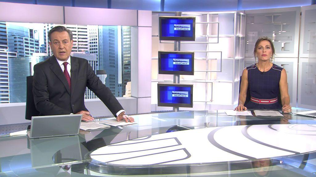 Con José Ribagorda y Ángeles Blanco Informativos Telecinco 2020 Mediodía 10/10/2020