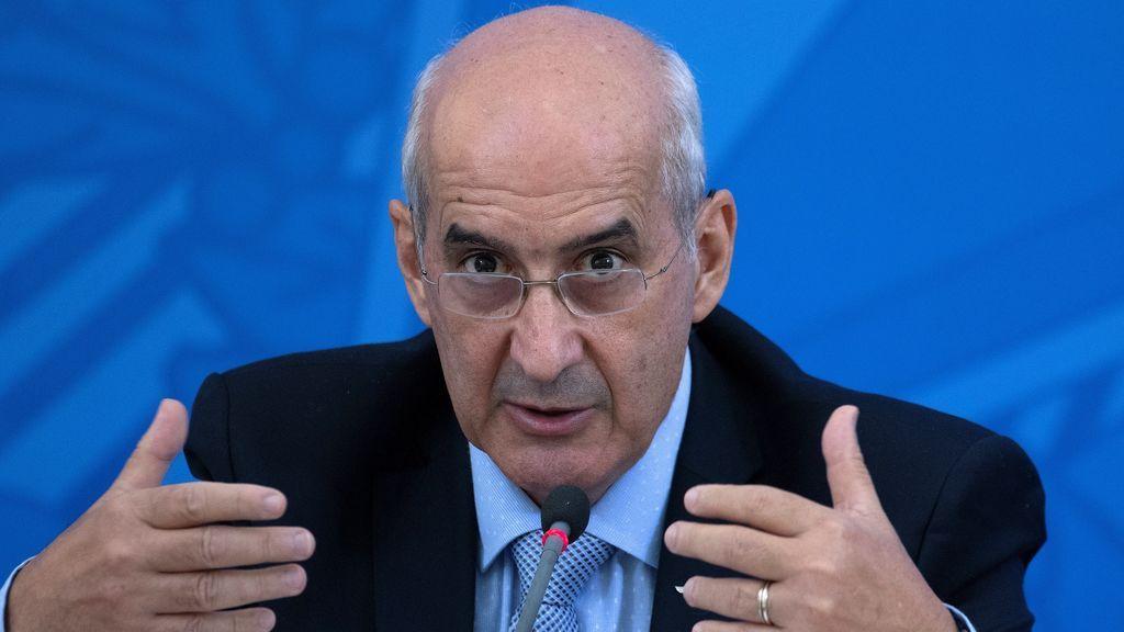 El ministro de la Secretaría de Gobierno de Brasil, Luiz Eduardo Ramos
