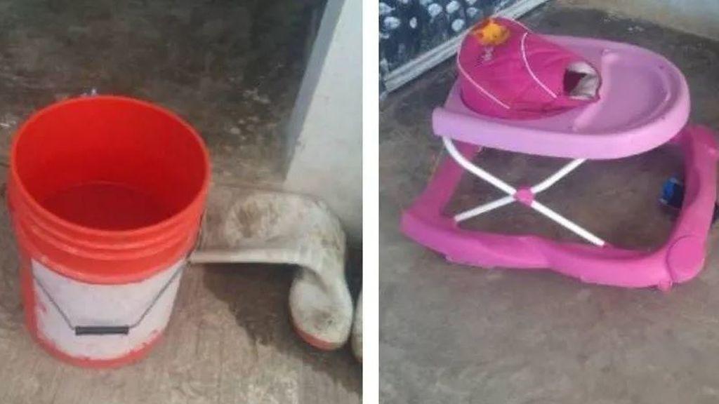 Muere ahogado un bebé de 9 meses tras caer dentro de un cubo de agua: