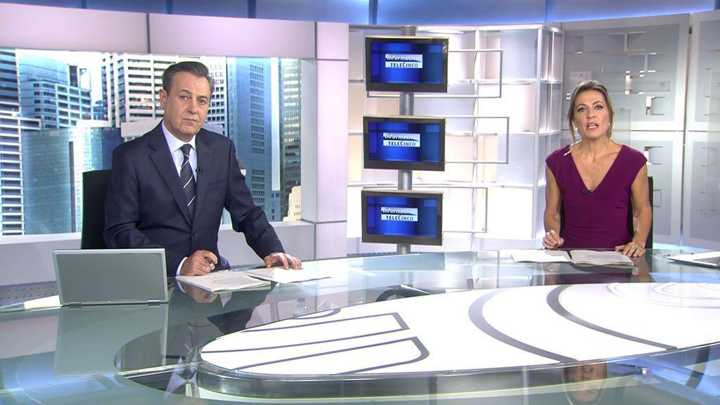 Con José Ribagorda y Ángeles Blanco Informativos Telecinco 2020 Mediodía 11/10/2020