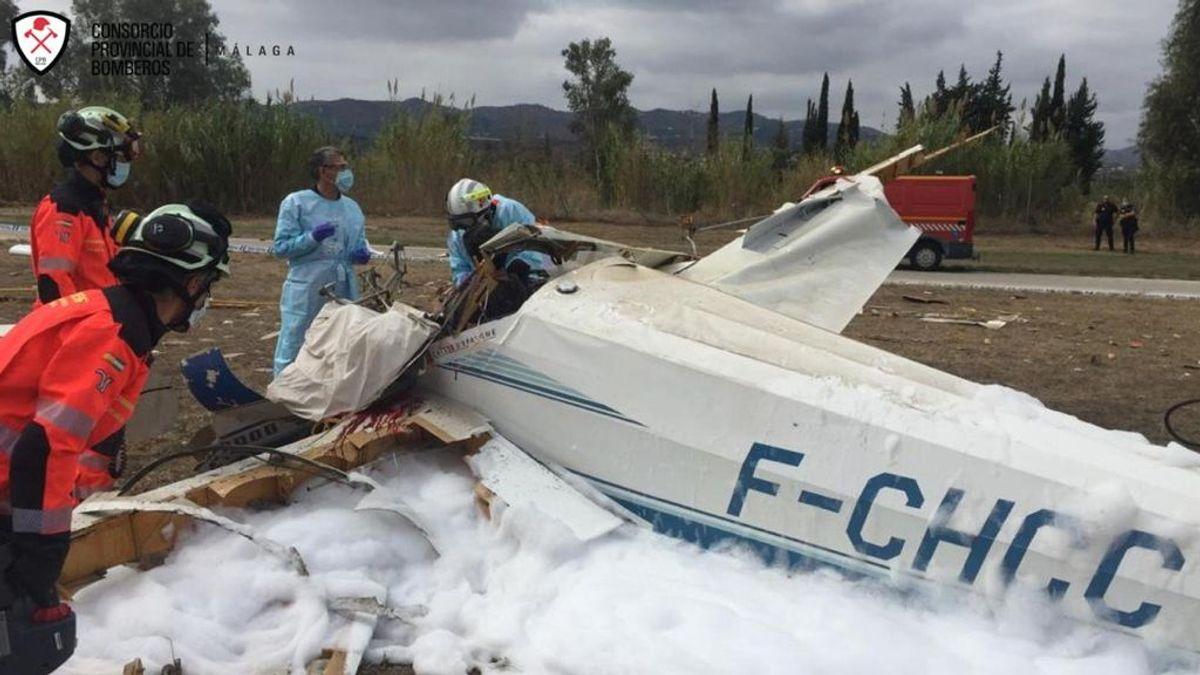 Un muerto y un herido grave en un accidente de una avioneta en el aeródromo de Vélez, en Málaga