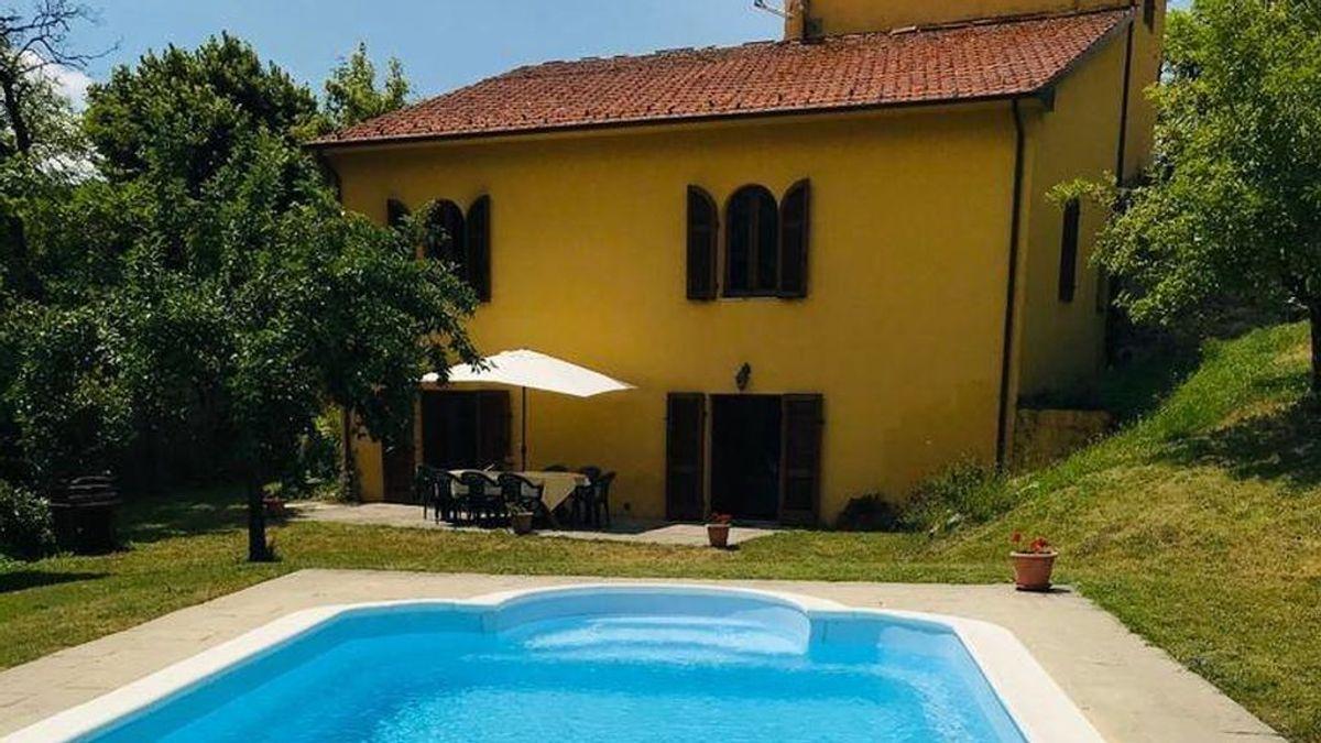 Sortean por 28 euros una casa con piscina y jardines privados en la Toscana