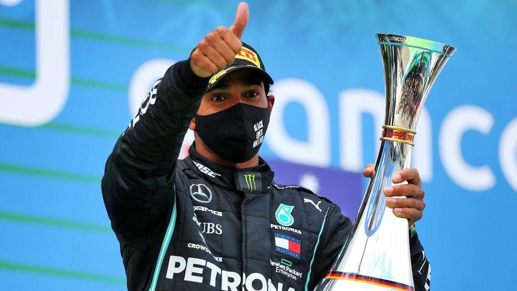 Hamilton se lleva la victoria en el Gran Premio  de Eifel y consigue igualar el récord de Michael Schumacher
