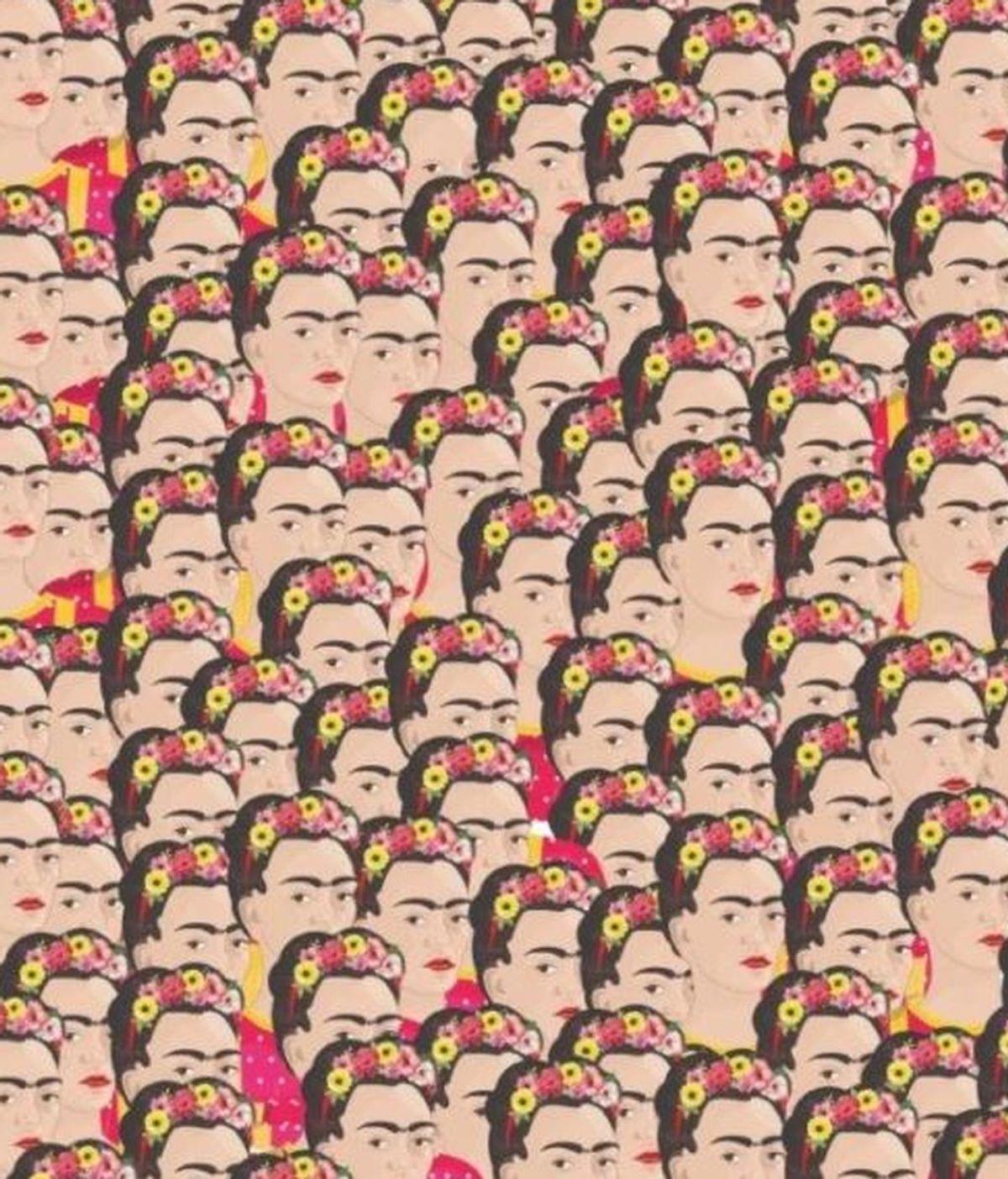 Prueba tu agilidad mental: encuentra a la Frida Kahlo sin cejas en menos de 10 segundos
