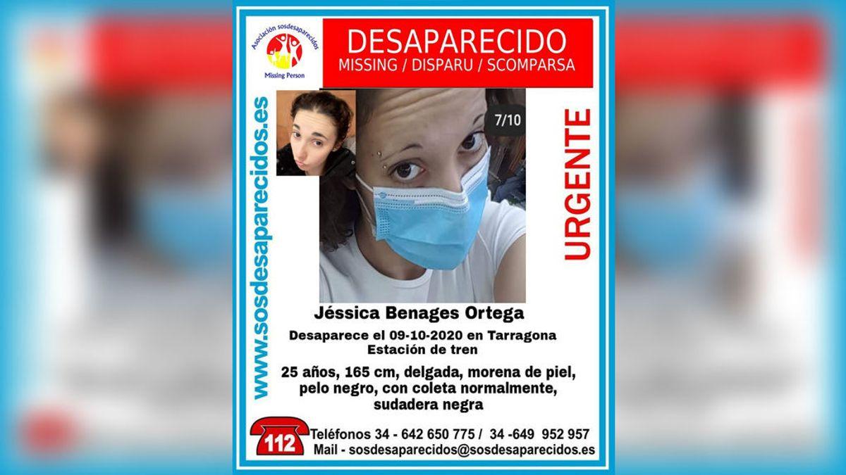 Buscan a Jéssica Benagues, una joven de 25 años desaparecida en la estación de tren de Tarragona
