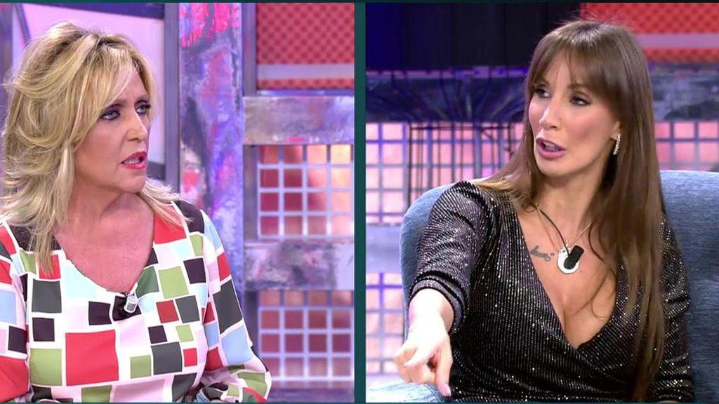 Lydia Lozano se sorprende con el 'poli' de Fani