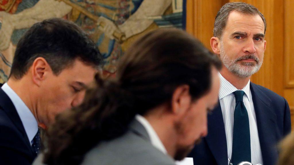 Los Reyes presiden este lunes un 12-O sin desfile militar y en el que estarán todos los ministros de Podemos