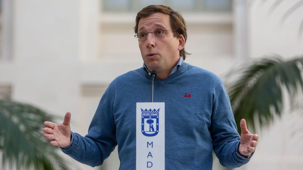 Almeida pide a Sánchez igualdad de trato y que se levante estado de alarma si cumple con los requisitos