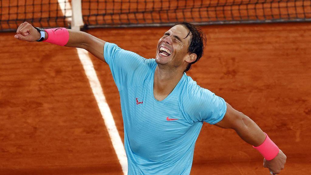 Rafa Nadal hace el 12+1 en París y caza a Federer en el 'Grand Slam'