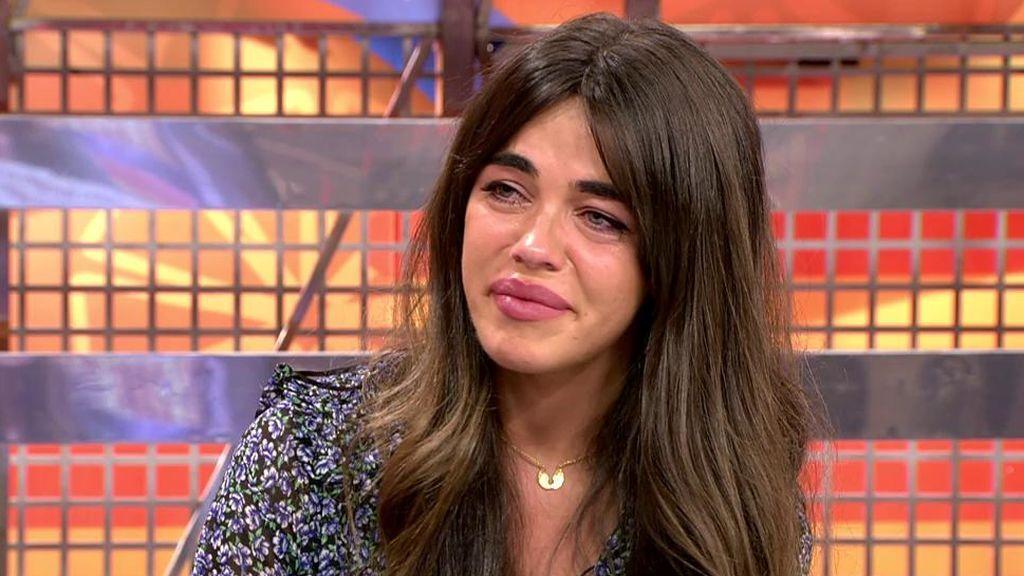 Violeta Mangriñán se derrumba al hablar de su anorexia