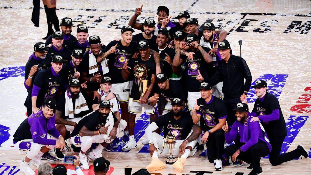 Los Lakers ganan el anillo de la NBA y Lebron James recupera su corona