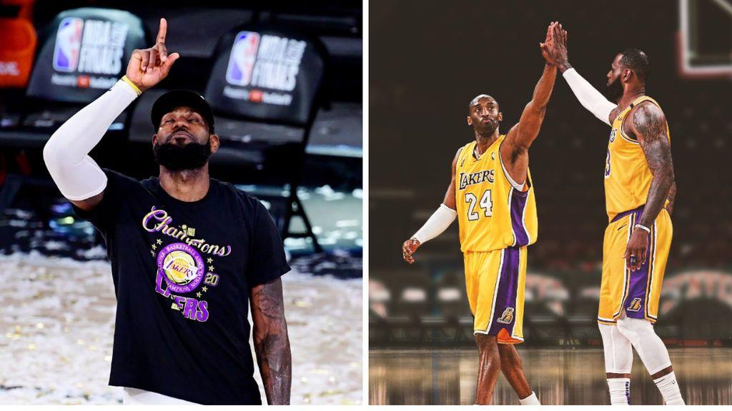 Los emotivos homenajes a Kobe Bryant tras el partido: Lebron James, Pau Gasol y hasta la ciudad de Los Ángeles