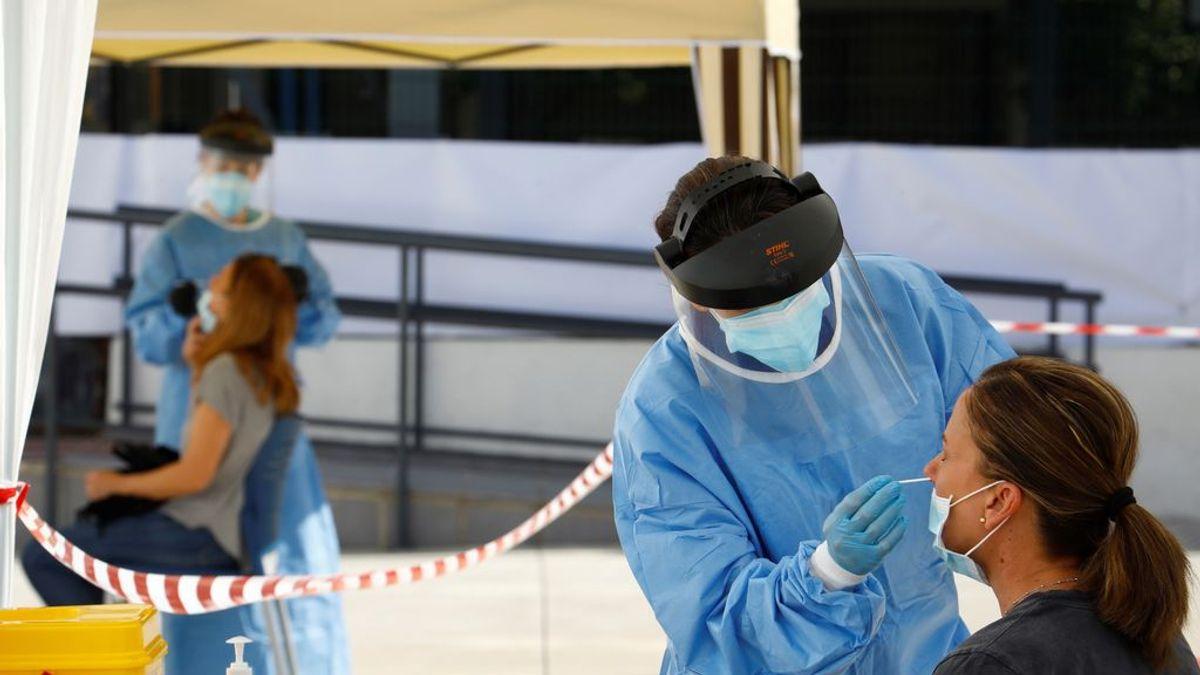 Sanidad registra 27 857 casos de coronavirus en las últimas 24 horas