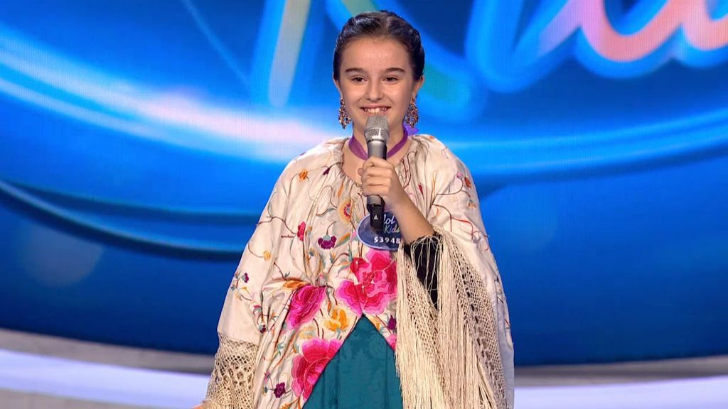 La jota de Adriana conquista a todo el jurado de 'Idol Kids