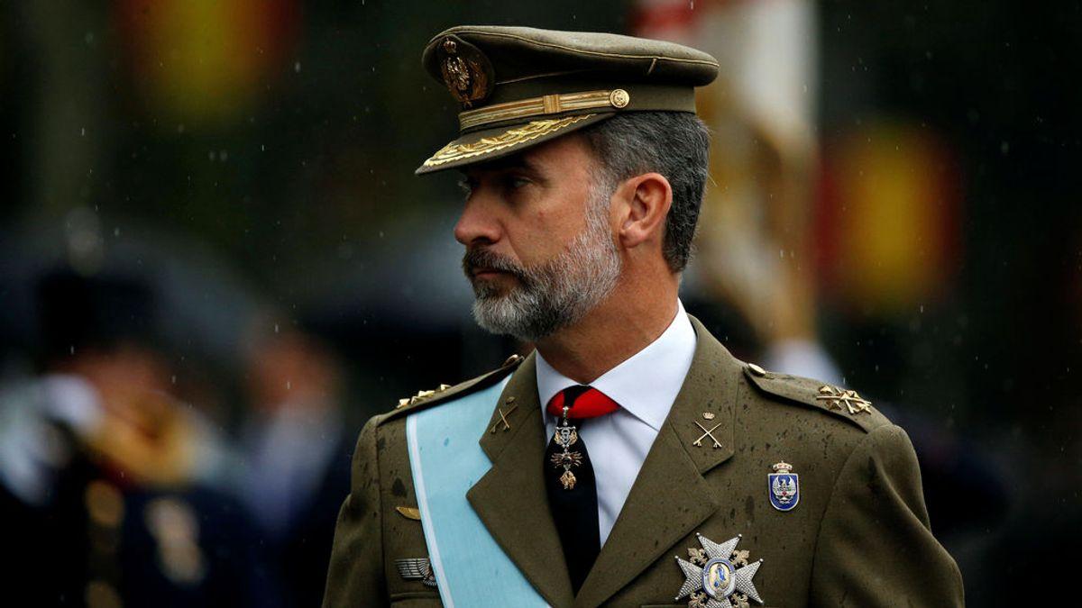 Los Reyes presiden este lunes un 12 de octubre marcado por la pandemia