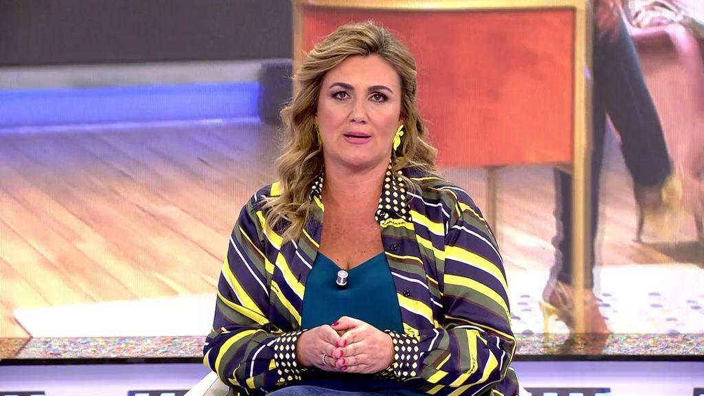 Carlota Corredera cuenta la verdad de qué pasa en Telecinco cada vez que viene María Teresa Campos