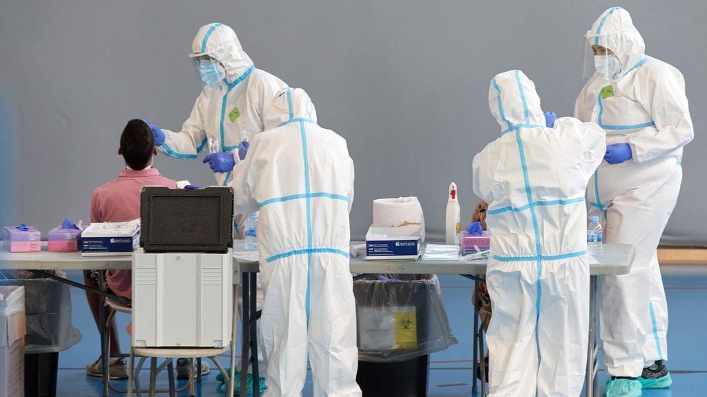Casi once millones de PCR realizados en España desde el inicio de la pandemia