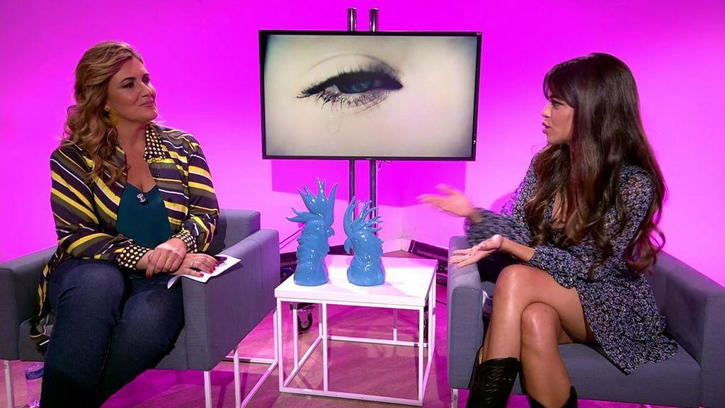 Violeta Mangriñán habla con Carlota Corredera sobre su anorexia.