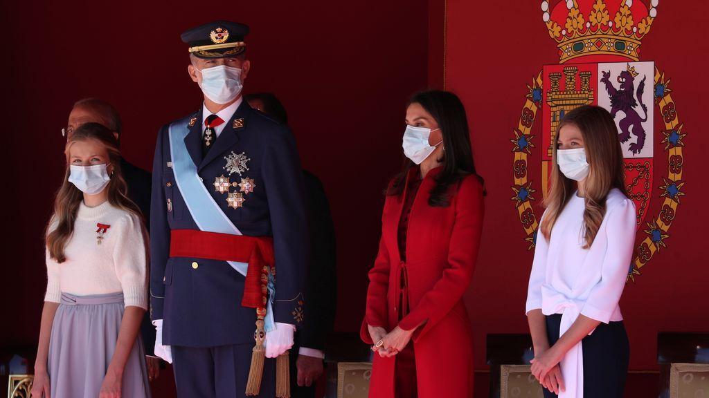 En directo: un 12 de Octubre marcado por la pandemia y la alta tensión política
