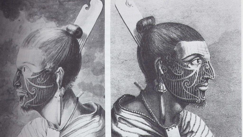 Momia maorí
