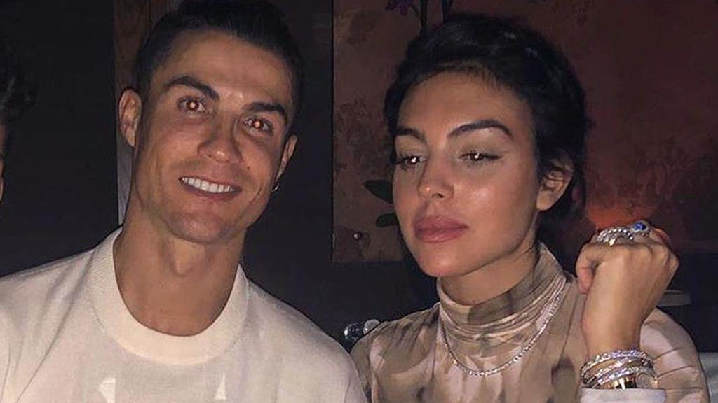 Georgina Rodríguez, aislada de Cristiano Ronaldo tras el positivo del futbolista en coronavirus