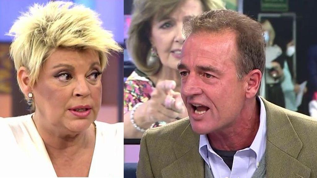 Lequio estalla tras las críticas de Terelu Campos