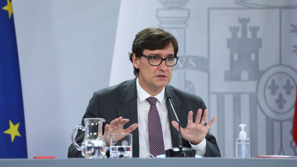 Salvador Illa descarta levantar el estado de alarma en Madrid