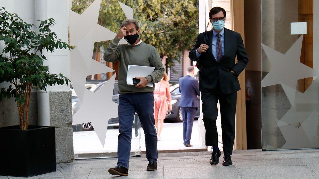 Salvador Illa defenderá en el Congreso el estado de alarma en Madrid