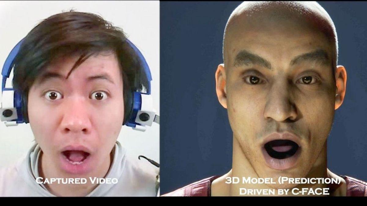 C-Face, los auriculares que detectan las expresiones faciales incluso con mascarilla y las traduce en emojis