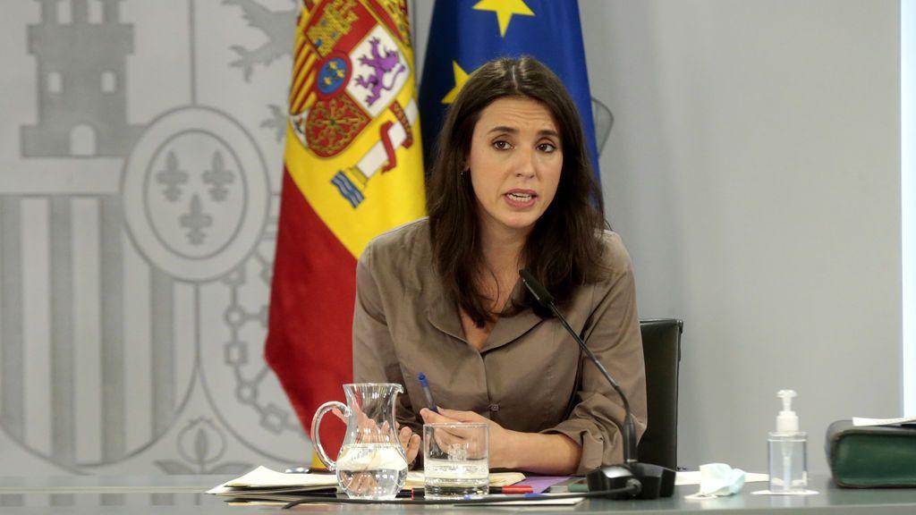 """Irene Montero pide un Gobierno """"sensible"""" al debate sobre la utilidad de la monrquía"""