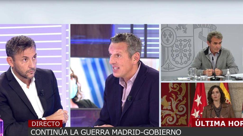 Javier Ruiz indignado con la petición de anular el estado de alarma en Madrid.