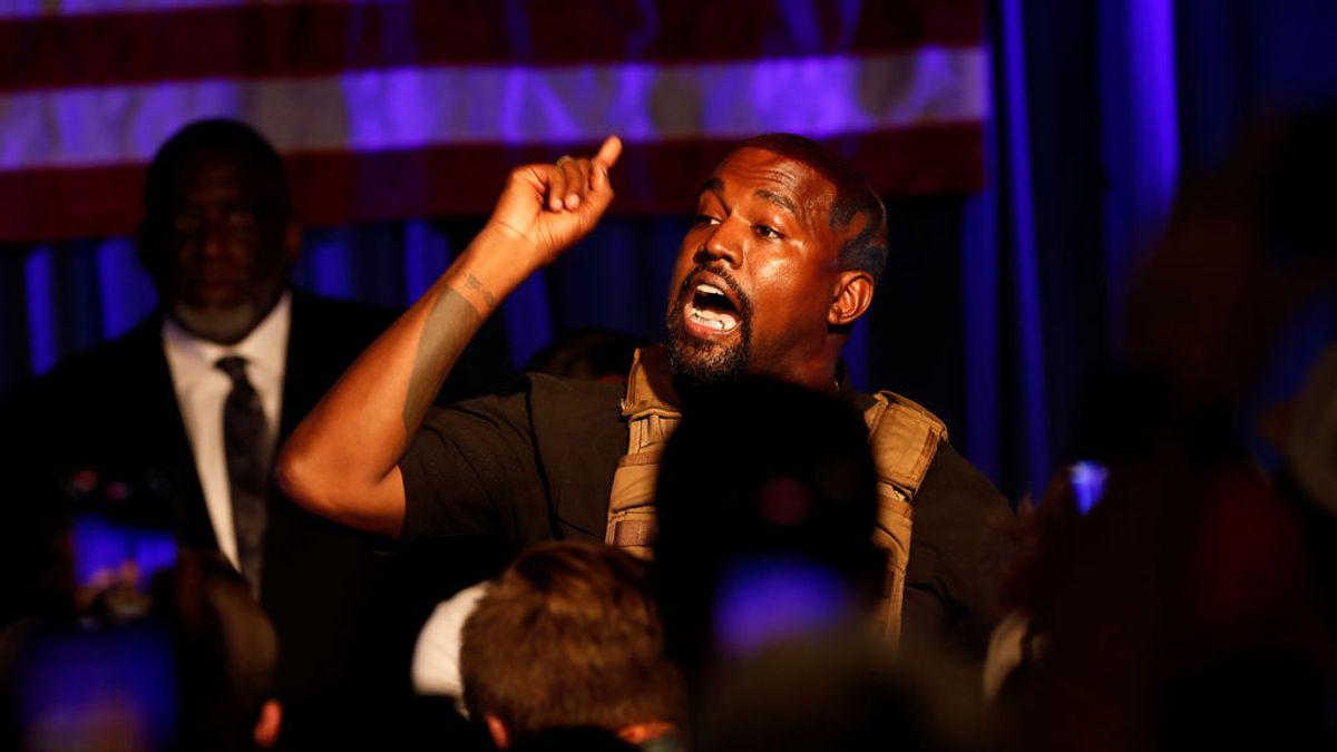 """Kanye West lanza su primer anuncio de campaña presidencial: """"Seremos la nación que dios quiere"""""""