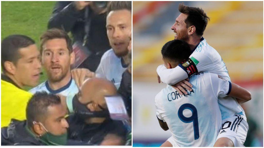 Messi estalla tras el partido contra Bolivia.