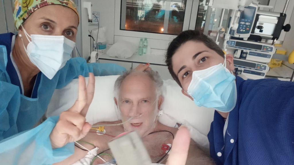 """Ernesto Ekaizer, tras casi morir por covid-19: """"Mi buena salud y la experiencia de médicos han obrado el milagro"""""""