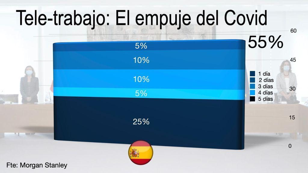 El teletrabajo en España durante la crisis sanitaria