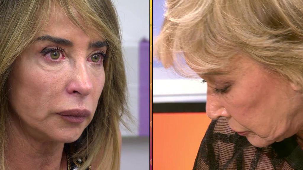 """María Patiño, desolada tras su conflicto con Mila Ximénez: """"No sé qué más hacer"""""""