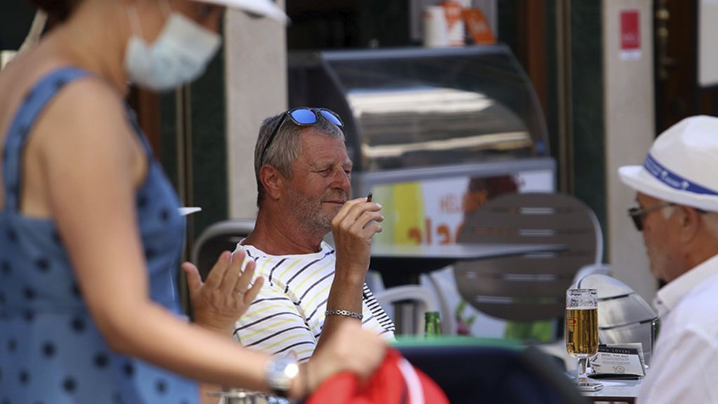 Fumar en la calle