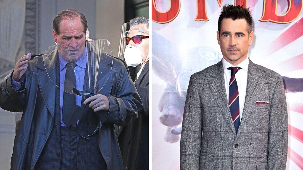 Primeras imágenes de un irreconocible Colin Farrell como Pingüino, el nuevo villano en 'The Batman'