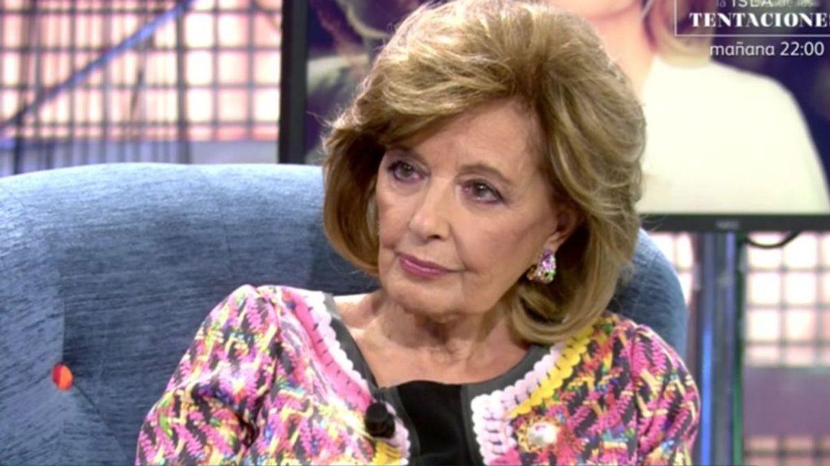 La asfixia económica de Mª Teresa Campos: cargas de más de un millón de euros  sobre su chalet