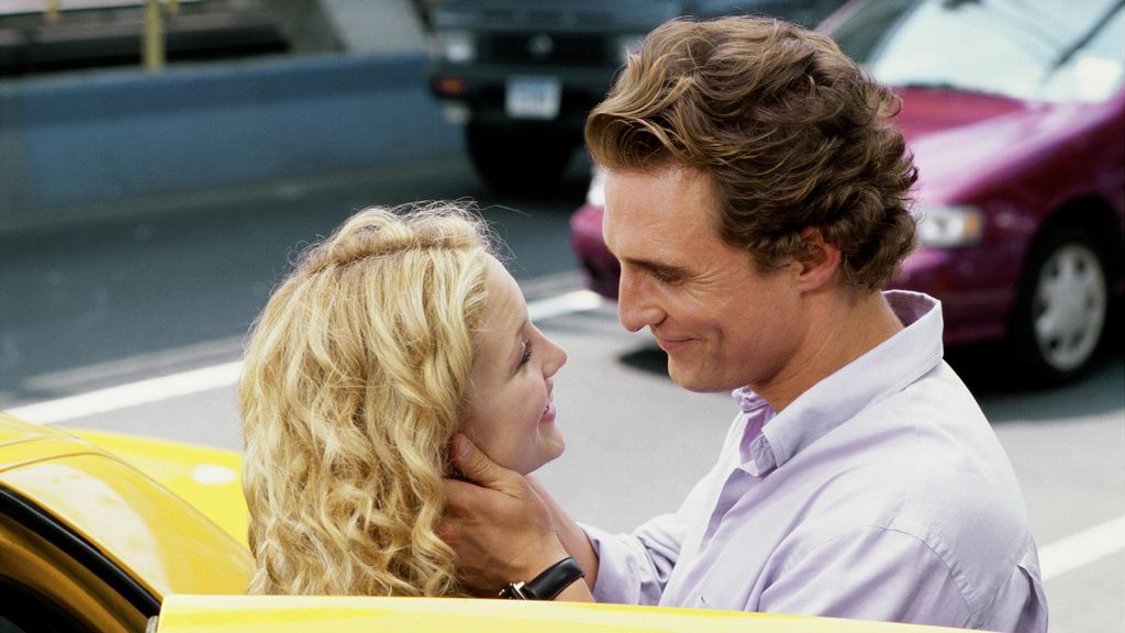 """Kate Hudson, sobre un beso de película con Matthew McConaughey: """"Tenía mocos en la cara"""""""