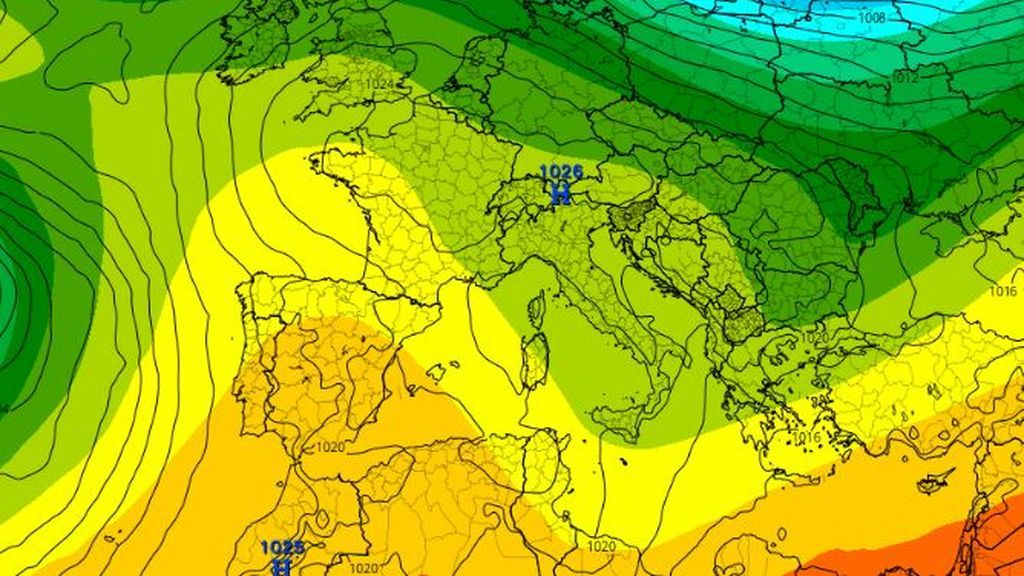 Qué es una dorsal anticiclónica: el patrón atmosférico que trae tiempo estable