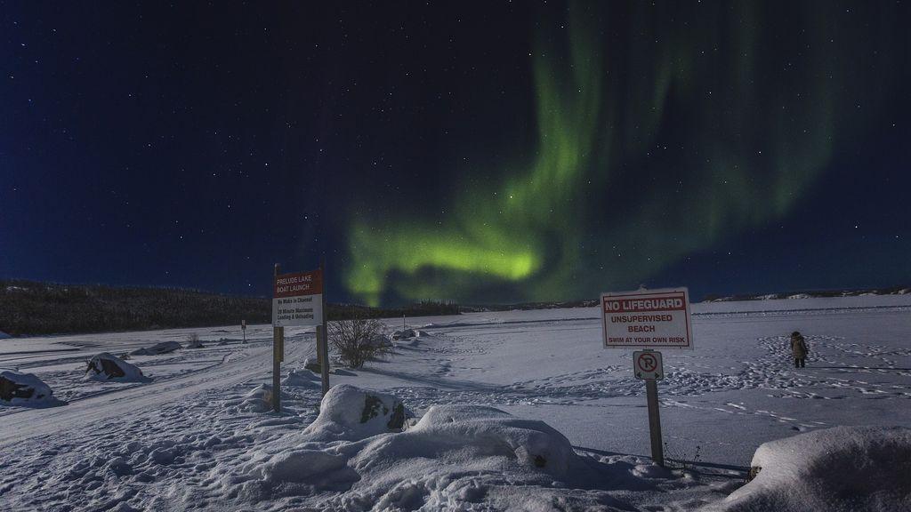 Yellowknife (Canadá).