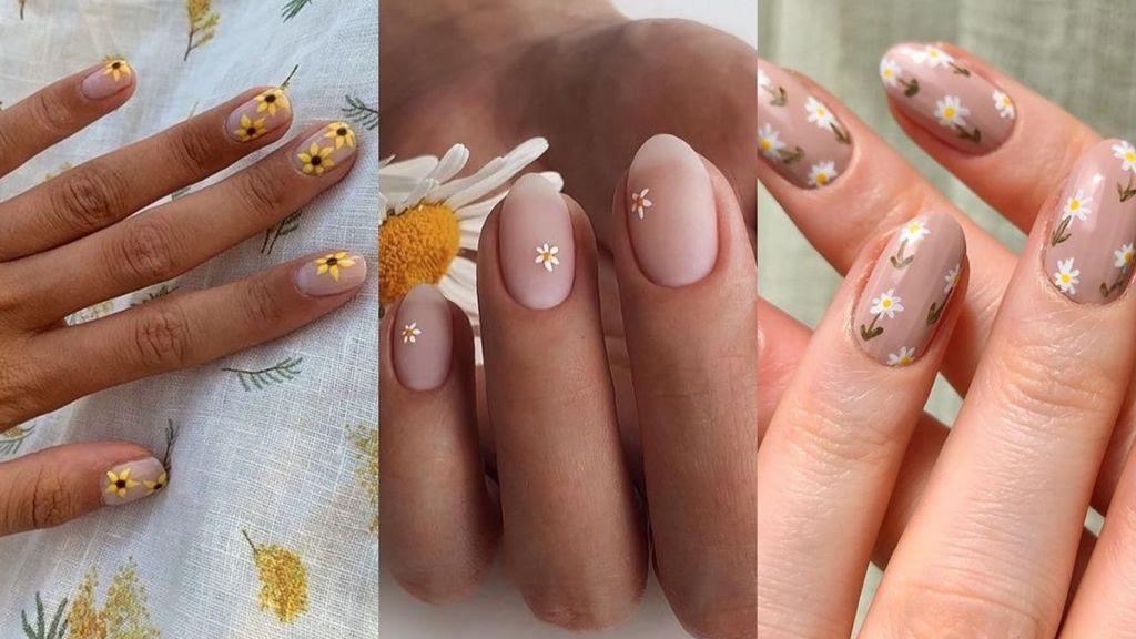 Uñas 'daisy': así se consiguen paso a paso las uñas de flores que marcan tendencia