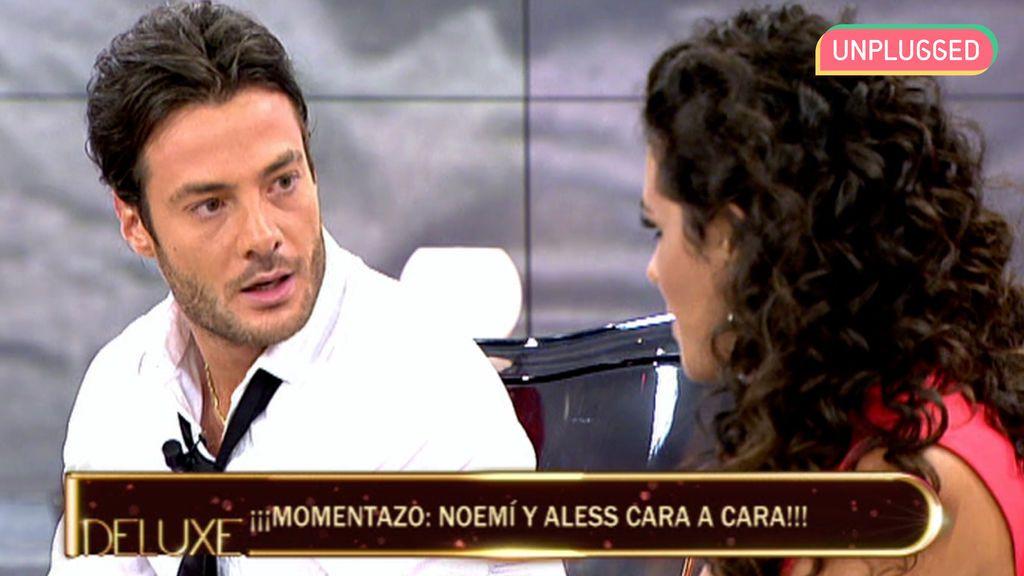 Alessandro Livi y Noemí Merino