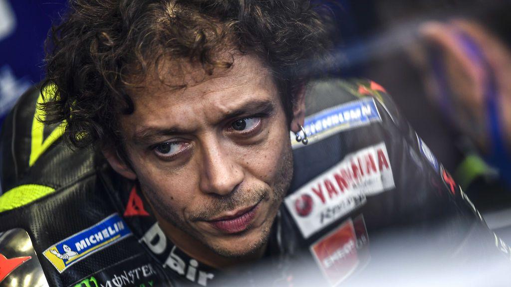 Valentino Rossi, positivo por COVID-19