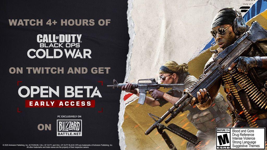 Cold War beta abierta