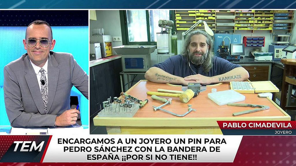 Pablo Cimadevila, joyero gallego y Risto Mejide