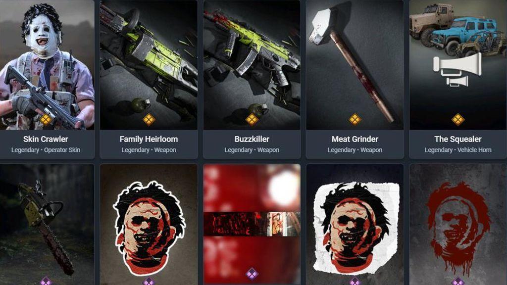 Call of Duty skins Halloween
